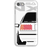 Nissan NX Pulsar Sportback - White iPhone Case/Skin