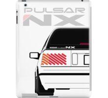 Nissan NX Pulsar Sportback - White iPad Case/Skin