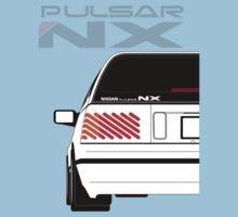 Nissan NX Pulsar Sportback - White Kids Tee