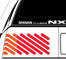 Nissan NX Pulsar Sportback - White Sticker