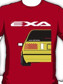 Nissan Exa Sportback - Yellow T-Shirt