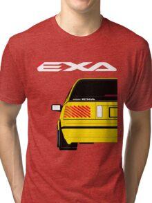Nissan Exa Sportback - Yellow Tri-blend T-Shirt