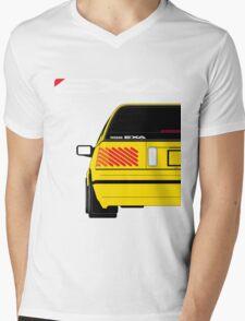 Nissan Exa Sportback - Yellow Mens V-Neck T-Shirt