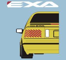 Nissan Exa Coupe - Yellow Kids Tee