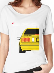 Nissan Exa Coupe - Yellow Women's Relaxed Fit T-Shirt