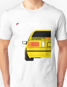 Nissan Exa Coupe - Yellow Unisex T-Shirt