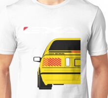 Nissan Exa Coupe - Yellow Unisex T-Shirt