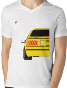 Nissan Exa Coupe - Yellow Mens V-Neck T-Shirt