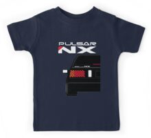 Nissan NX Pulsar Sportback - Black Kids Tee