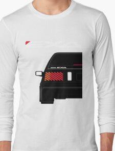 Nissan Exa Sportback - Black Long Sleeve T-Shirt