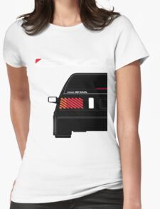 Nissan Exa Sportback - Black Womens Fitted T-Shirt