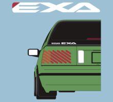 Nissan Exa Sportback - Greeb Kids Tee