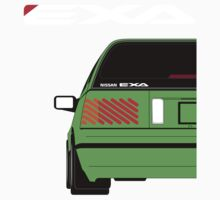 Nissan Exa Sportback - Greeb by SEZGFX