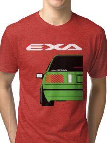 Nissan Exa Sportback - Greeb Tri-blend T-Shirt