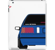 Nissan Exa Sportback - JAP Edition Blue iPad Case/Skin