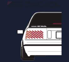 Nissan Exa Sportback - White Kids Clothes