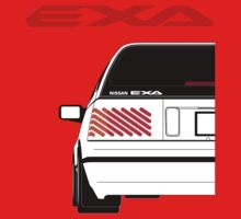 Nissan Exa Sportback - White Kids Clothes