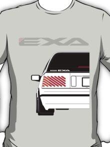 Nissan Exa Sportback - White T-Shirt