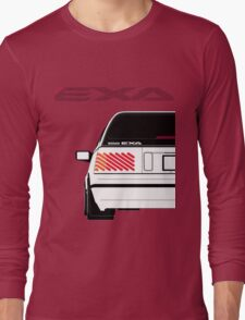 Nissan Exa Sportback - White Long Sleeve T-Shirt