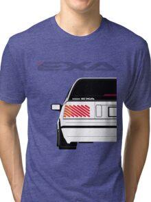 Nissan Exa Sportback - White Tri-blend T-Shirt