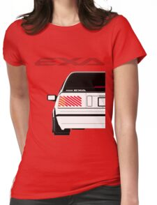 Nissan Exa Sportback - White Womens Fitted T-Shirt