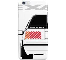Nissan Exa Sportback - White iPhone Case/Skin