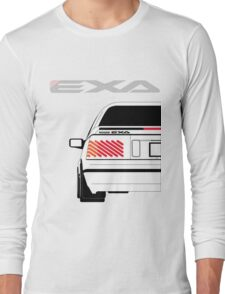 Nissan Exa Coupe - White Long Sleeve T-Shirt