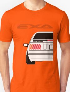 Nissan Exa Coupe - White T-Shirt