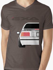Nissan Exa Coupe - White Mens V-Neck T-Shirt