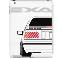 Nissan Exa Coupe - White iPad Case/Skin