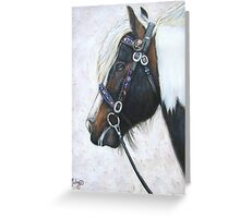Double Tumble's Celtic Bridle Greeting Card