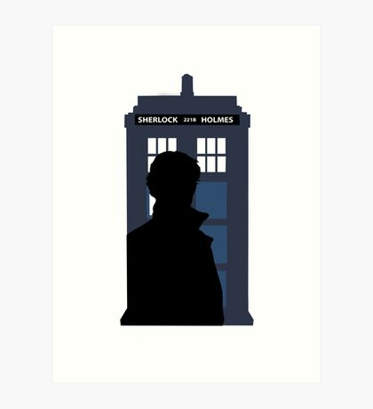 Time and Relative Dimensions in Baker Street Art Print