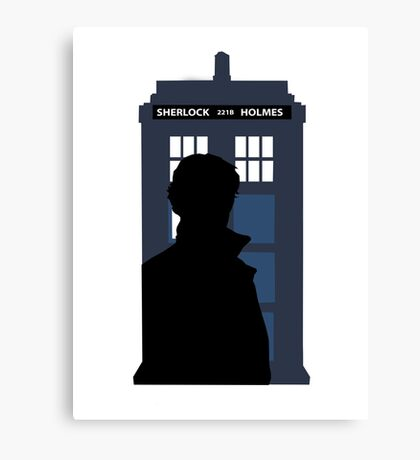 Time and Relative Dimensions in Baker Street Canvas Print