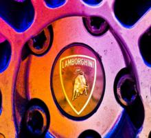 Lamborghini Rim  Sticker