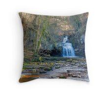 Autumn at Cauldron Falls Throw Pillow