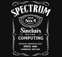 Retro Black Label by DemonigoteTees