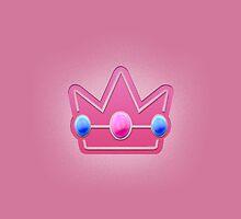 Peach Crown Royalty by LumpyHippo