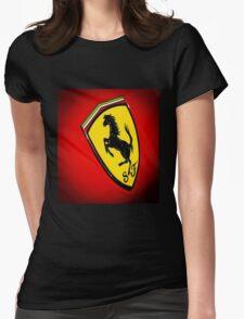 Il Cavallino Ferrari Womens Fitted T-Shirt
