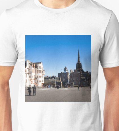 Edinburgh Buildings Unisex T-Shirt