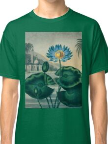The Blue Egyptian Water Lily Classic T-Shirt