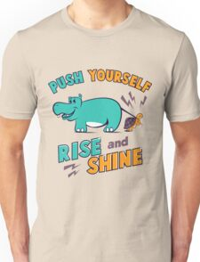 HIPPO AND TURTLE Unisex T-Shirt
