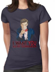 Doctor Who Uncle Sam Womens Fitted T-Shirt