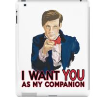 Doctor Who Uncle Sam iPad Case/Skin