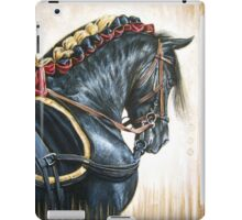 Black Andalusian Beauty iPad Case/Skin