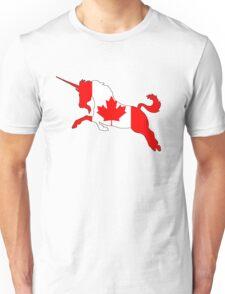Canada Unicorn Unisex T-Shirt