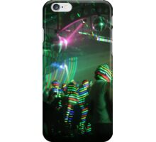 laser stripes iPhone Case/Skin
