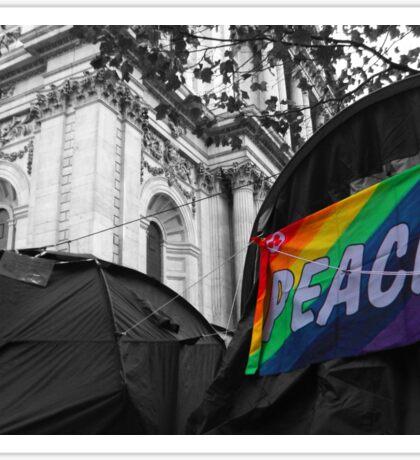 Rainbow Peace Flag Sticker