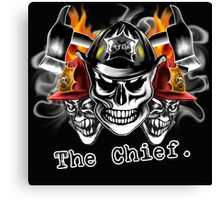 Firefighter: The Chief Canvas Print