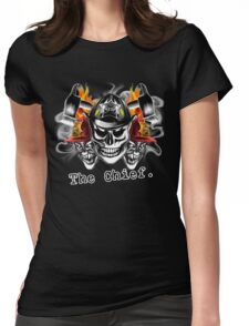 Firefighter: The Chief Womens Fitted T-Shirt