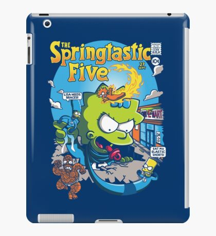 Springtastic 5 iPad Case/Skin